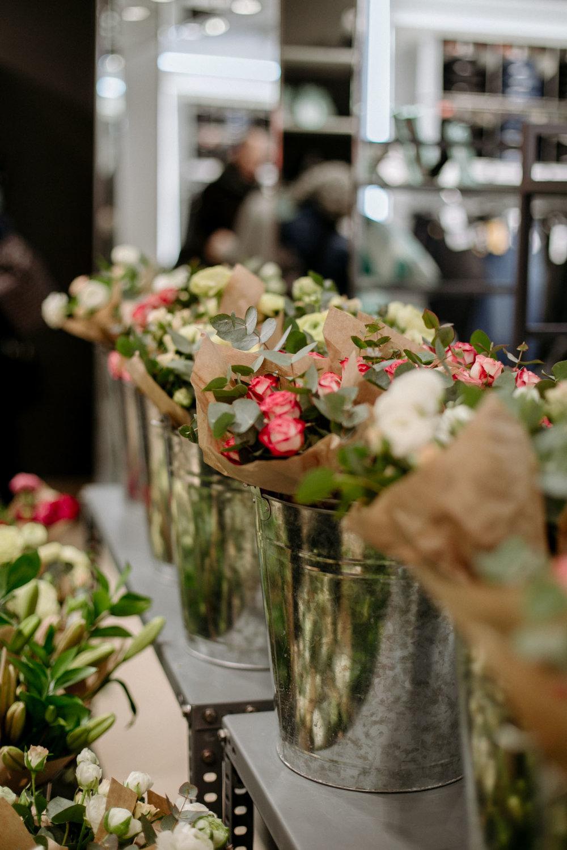 El floral cornerde H&M - floral corner