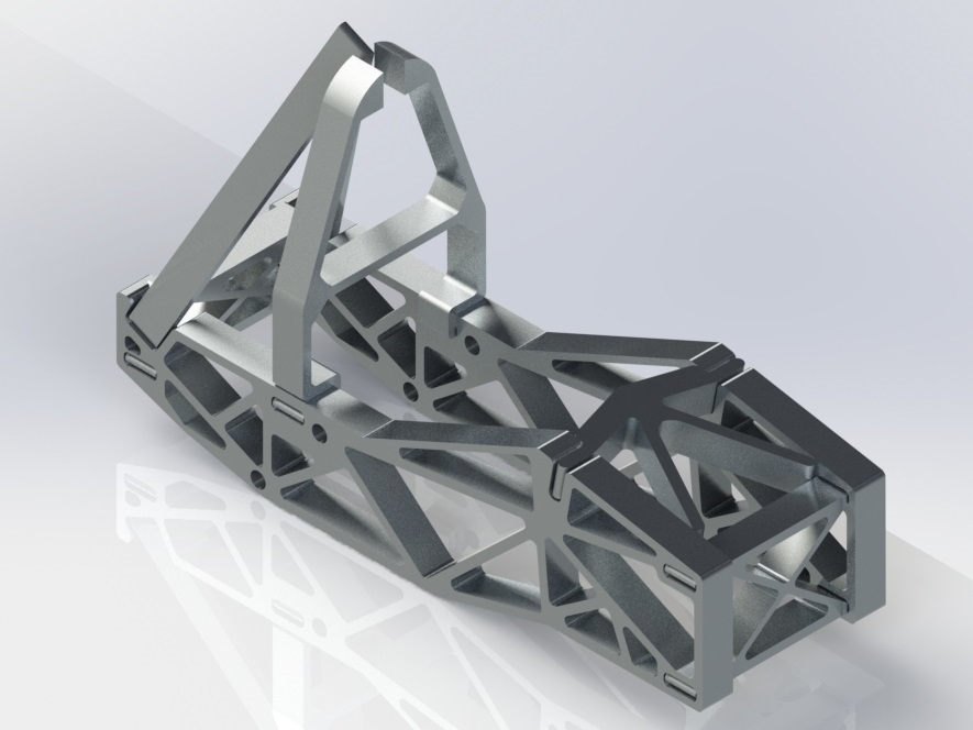 SolidWorkds Chassis Render