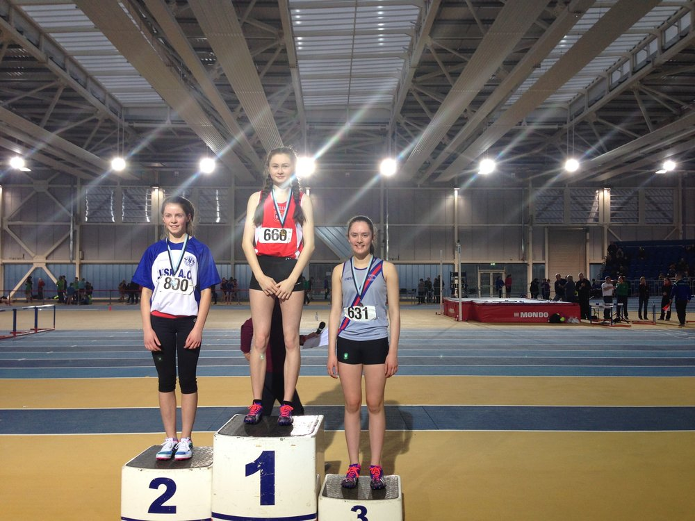 Girls U14 60mH Podium - Abbotstown Feb2017.JPG