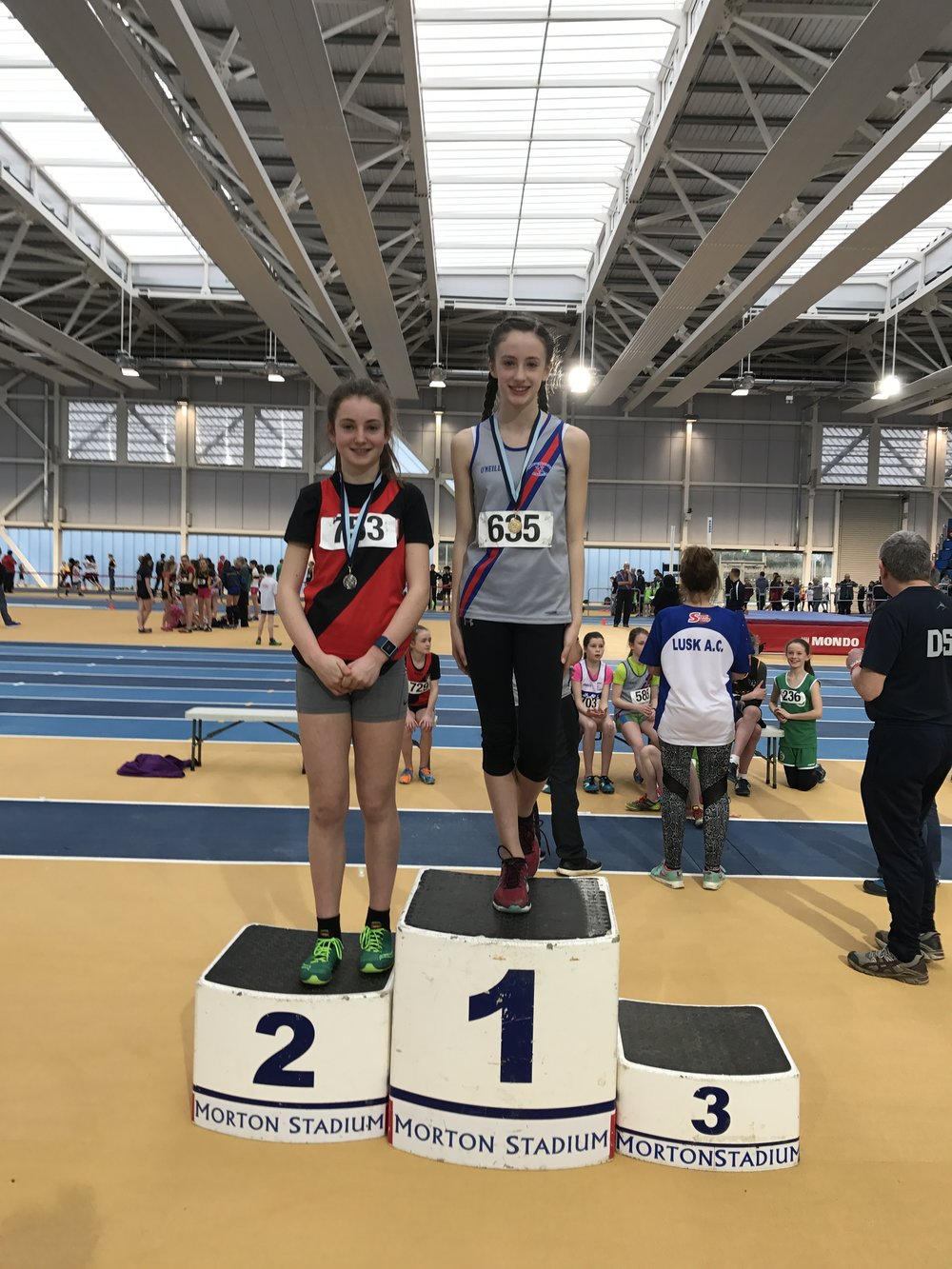 U13 Girls HJ Podium - Abbotstown Feb2017.JPG