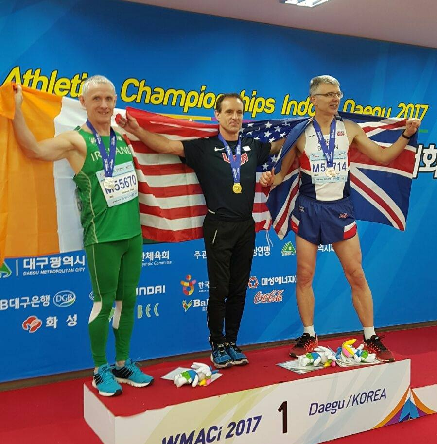 - Shane Sheridan wins silver for Ireland in Daegu, South Korea