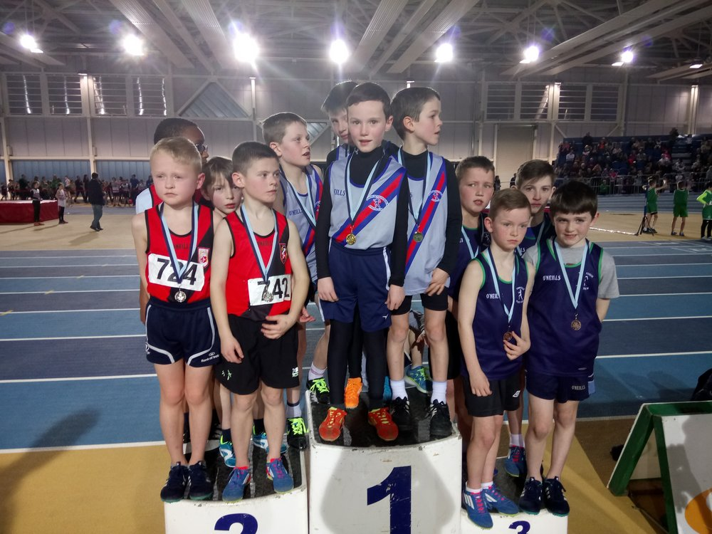 Boys U10 Relay Podium - Abbotstown Feb2017.JPG