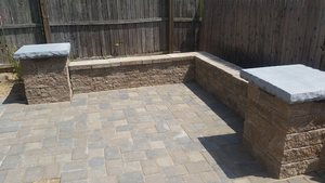 Patio Paver Maryland Decking Decks Patios And Fencing