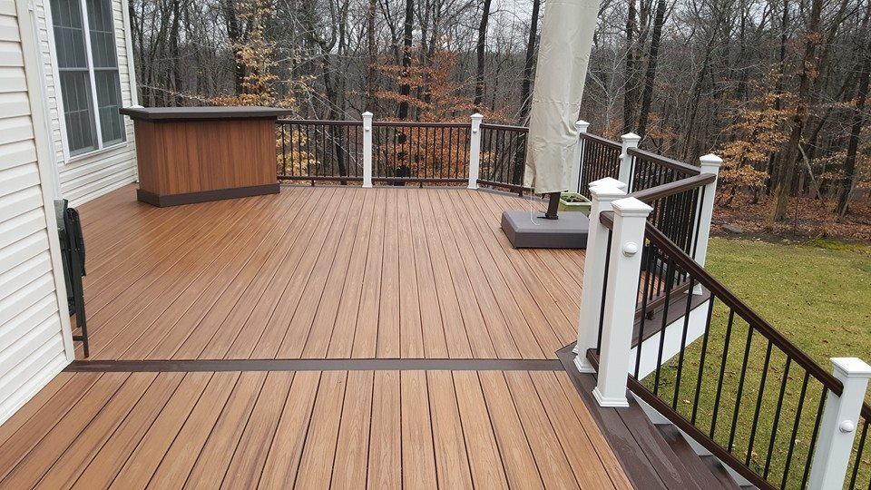 Trex Decking With Timbertech Railings
