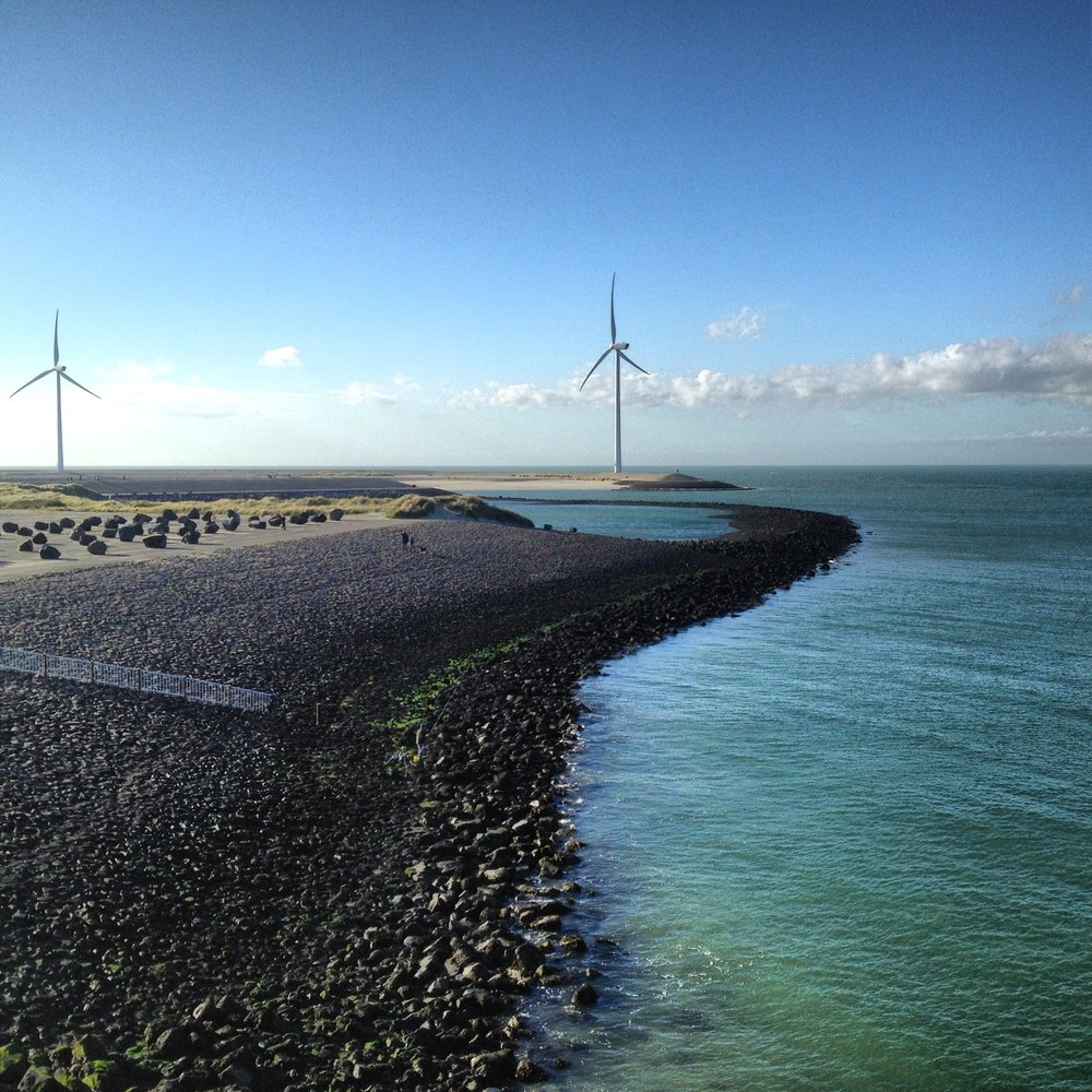 Oosterscheldekering: photo by Arlen Stawasz