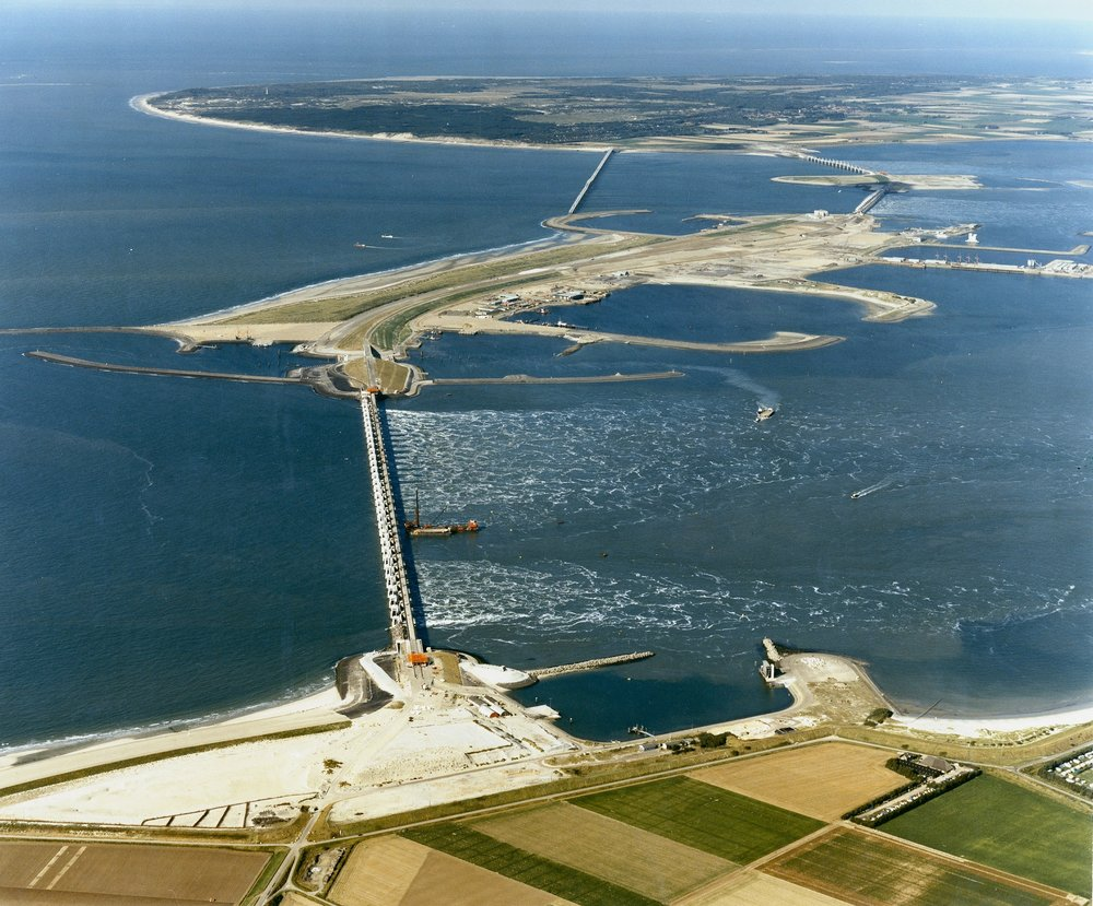 Oosterscheldekering, an engineering wonder of the world: stock photo taken from Google
