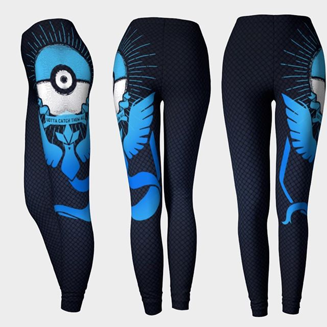 Finally here! Team Mystic Inspired Leggings. Share if you represent blue! These are high quality Eco Poly leggings made here in Canada. Art by @barrettbiggers .. Shop online at www.lunaria.ca #anime #fashion #leggings #3ds #printedleggings #nylons #battlenet #clothing #sdcc #sailormoon #teammystic #finalfantasy #cosplay #worldofwarcraft #legendofzelda #leagueoflegends #blackmilk  #playstation #nintendo #studioghibli #kawaii #kawaiilife #pcgaming #fit #pokemon #pokemongo #gamer #gamergirl #twitchtv