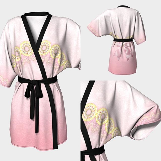 "Another new design! ""Serenity Kimono"" in our 2 choices of fabric. This would look beautiful with the chiffon fabric in my opinion. Also there are 3 colors for the tie ribbon. Black, dark grey and cream. This is Princess Serenity inspired (Sailor Moon) and gorgeous detail and lace art designed by our friend @raptorsenpai. All robes are made here in Canada hand sewn and printed. Shop online at www.lunaria.ca #anime #fashion #leggings #nerd #geek #printedleggings #robe #fanart #clothing #sailormoonctystal #sailormoon #pokemon #finalfantasy #cosplay #worldofwarcraft #legendofzelda #leagueoflegends #blackmilk #princessserenity #nintendo #studioghibli #kawaii #kawaiilife #model #japan #japanese #usagi #gamer #gamergirl #kimono"