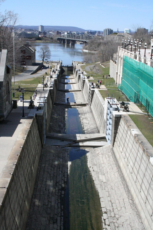 Rideau Canal World Heritage site, Ottawa (Canada) © Christophe Rivet