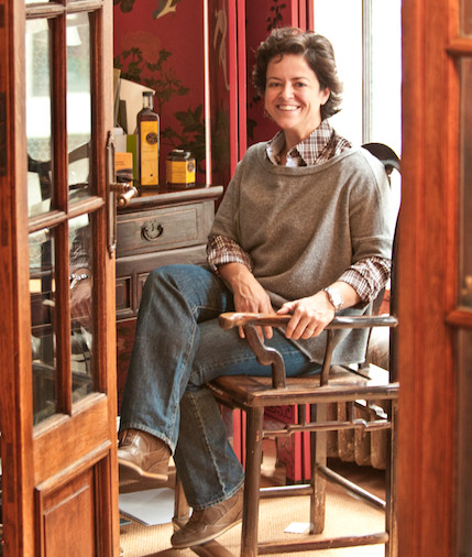 Claire Marin, proprietor and beekeeper of Catskill Provisions.