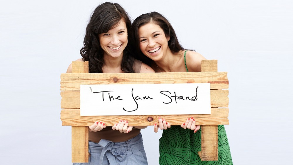 Best friends Jessica Quon and Sabrina Valle, founder of The Jam Stand.