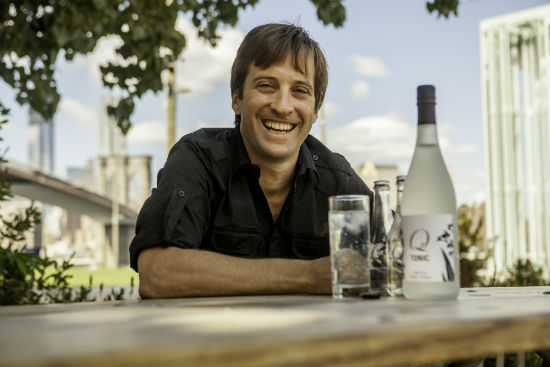 Jordan Silbert, Founder and CEO of Q Drinks Tonic Waters and Sodas.