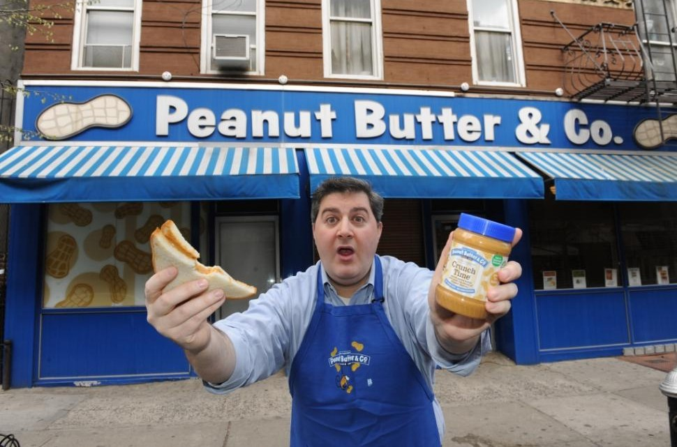Lee Zalben,the founder and president of New York City's world famous Peanut Butter & Co.