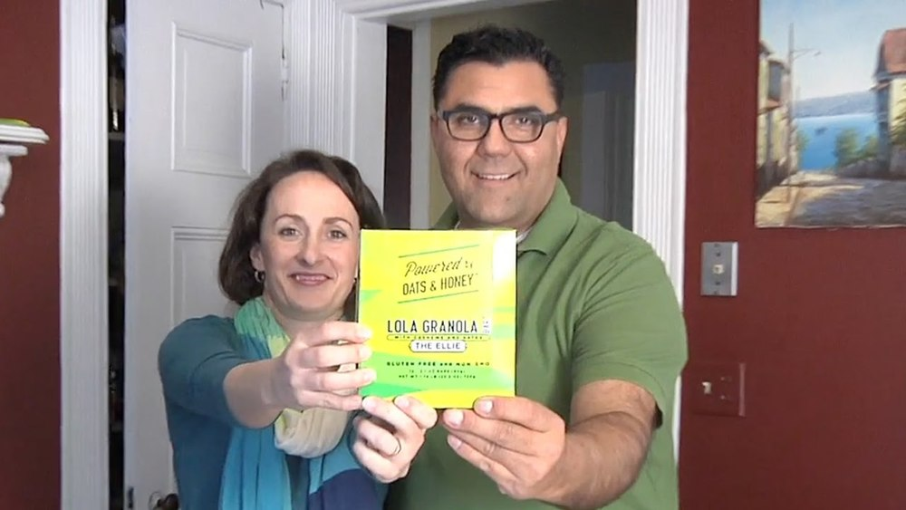 Mary and Ernie Molina, co -founders and operators of Lola Granola.