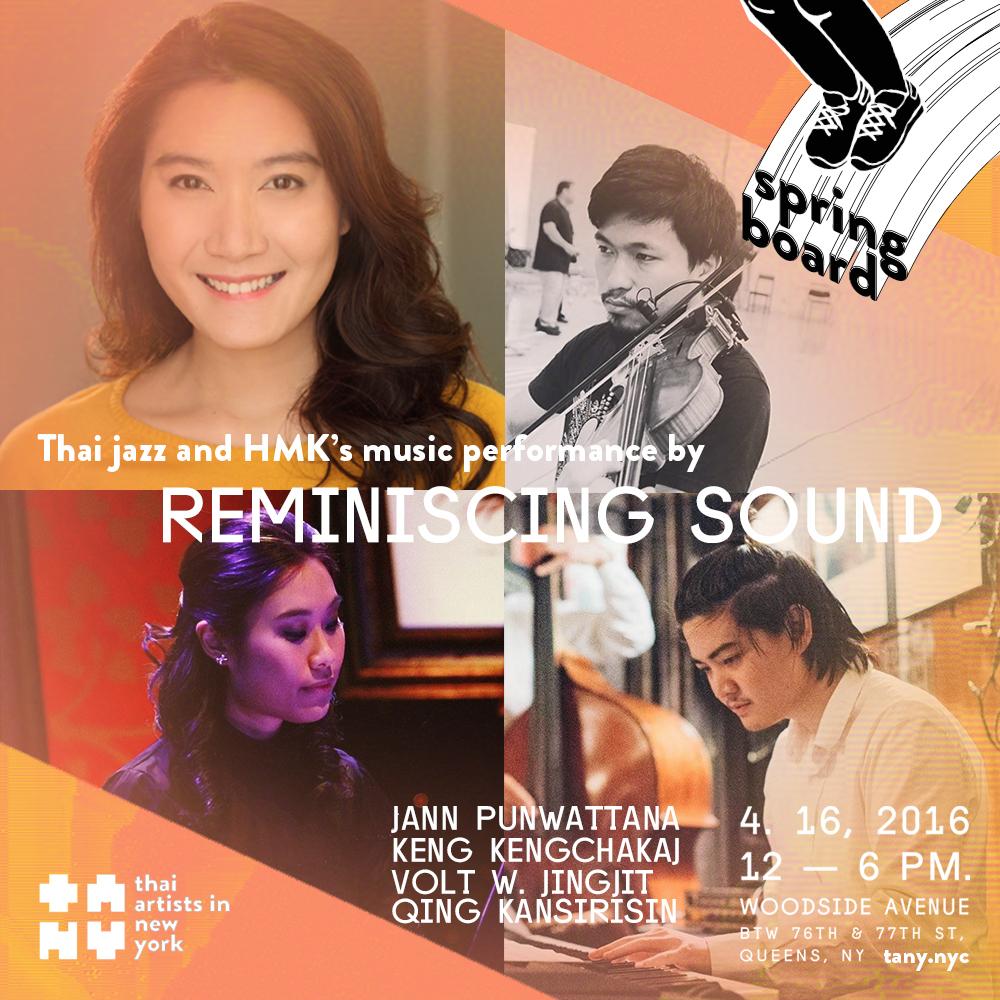 การแสดงดนตรีที่ผสมผสานเสน่ห์ของดนตรีไทยและดนตรีตะวันตก โดยจะแบ่งเป็น 2 ช่วงหลักๆคือช่วงเพลงไทยลูกกรุงแจ๊ซ และช่วงเพลงพระราชนิพนธ์ ซึ่งในส่วนของเพลงไทยลูกกรุงแจ๊ซจะเป็นการนำเพลงลูกกรุงคลุกเคล้ากลิ่นอายของเพลงแจ๊ซด้วยตัวดนตรี/การขับร้อง ในส่วนเพลงพระราชนิพนธ์ ซึ่งมีความเป็นแจ๊ซในตัวของดนตรีที่ไพเราะลงตัวอยู่แล้วนั้น เราจะนำเสนอทั้งคำประพันธ์ภาษาไทยและภาษาอังกฤษ โดยการแสดงทั้งหมดนี้จะประกอบด้วยเครื่องดนตรี 2 ชิ้น คือpiano และ violin และการขับร้อง