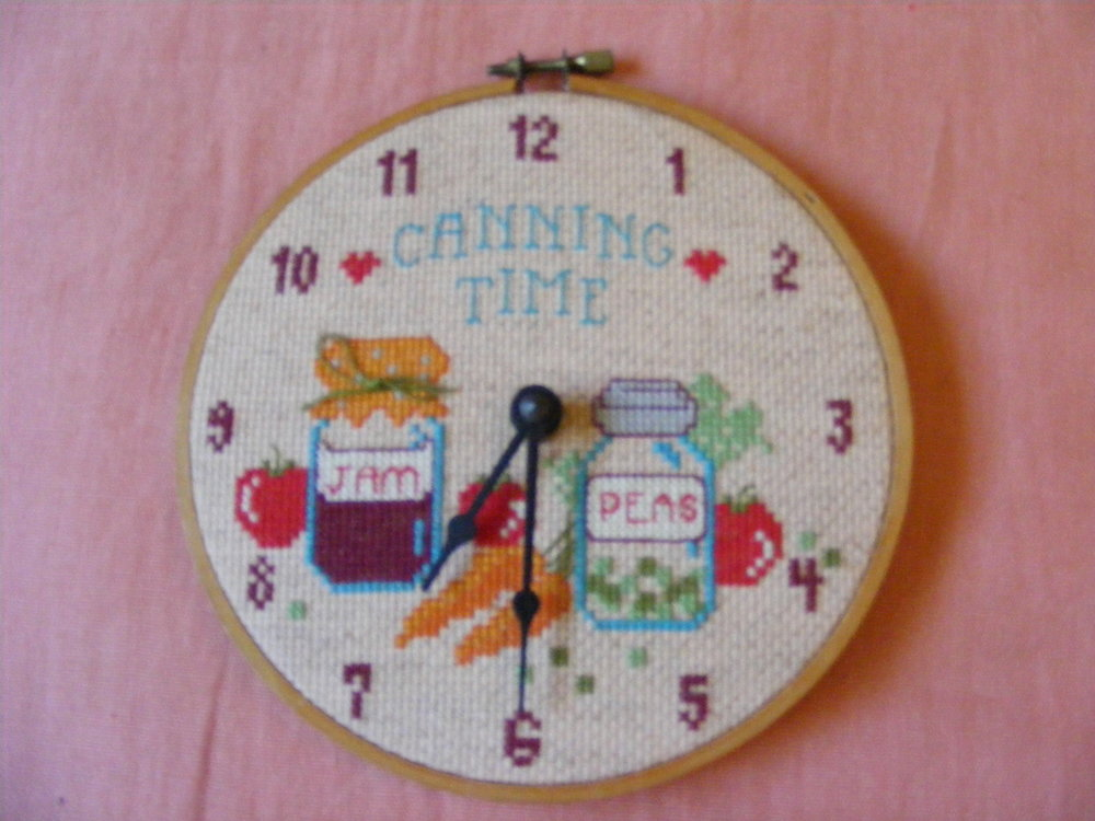 Haha - I believe this was my first ever cross stitch piece.