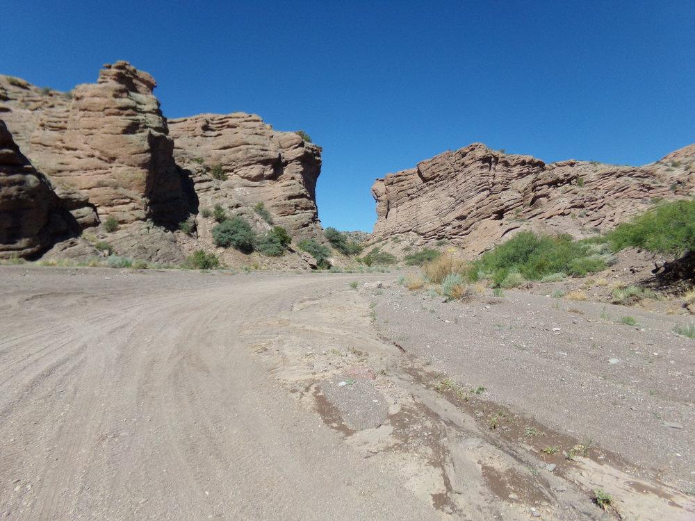 San Lorenzo Canyon