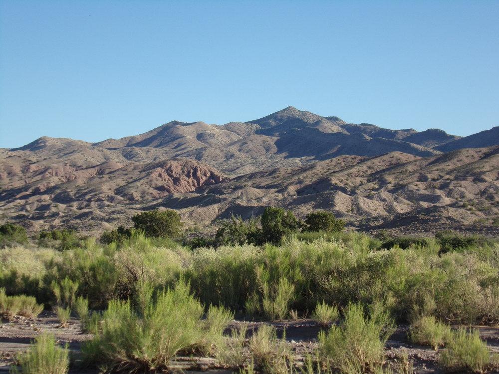 Desert Surrounding the Canyon