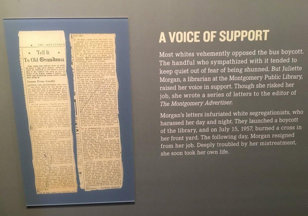 Juliette Morgan Civil Rights Museum