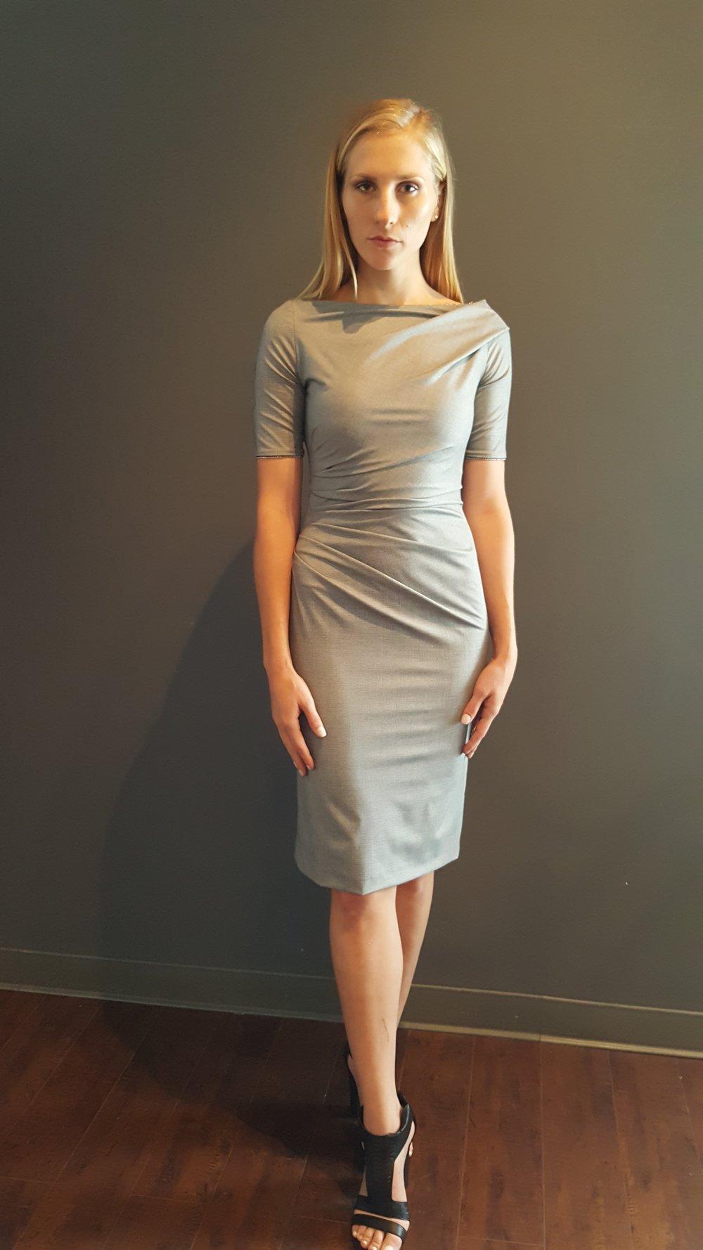 Bateau-Neck Dress