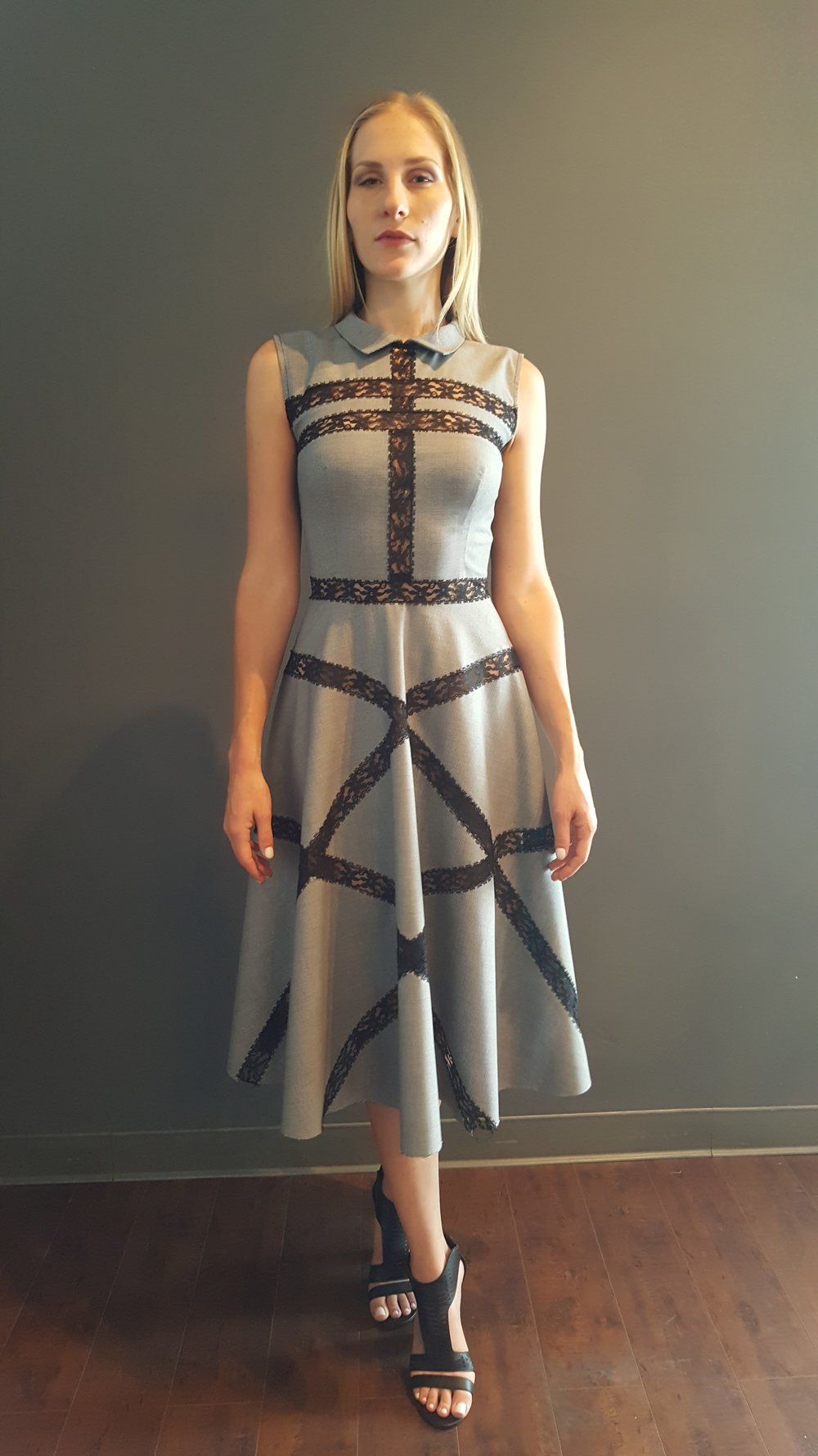 Lace Crossings Dress