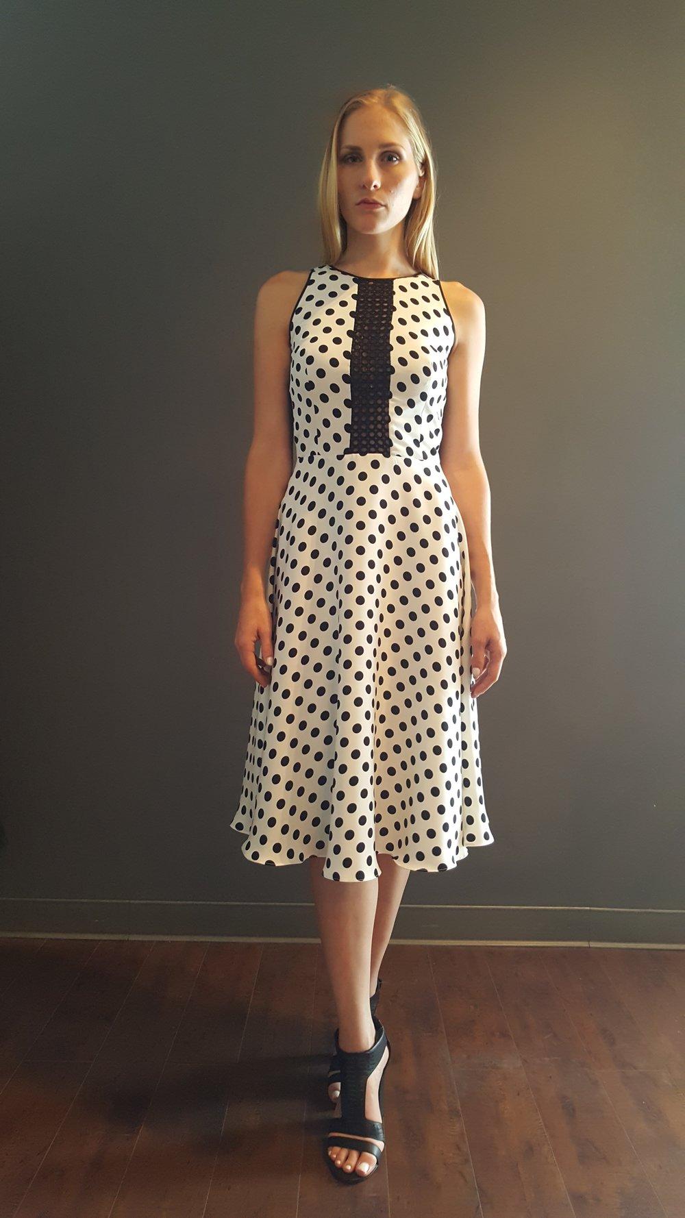 Polkadot Swing Dress