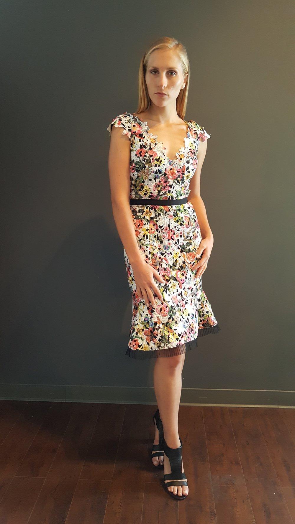 Floral Flippy Dress