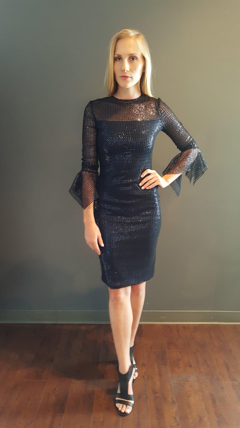 Hanky Sleeve Dress