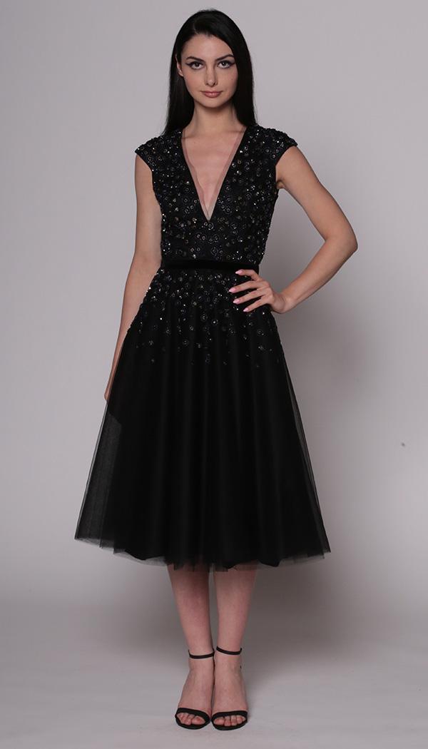 Beaded Dot Dress