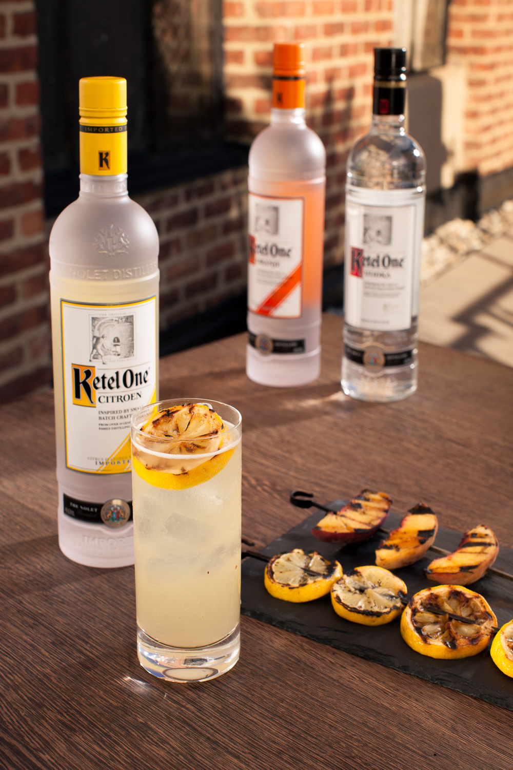 Grilled Lemonade - Ketel One