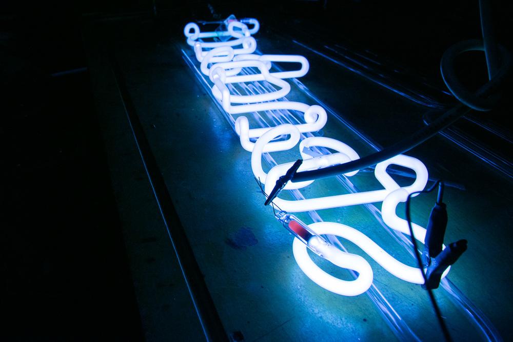Tasting Table - Neon Lights