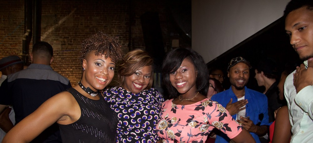Director Linette Lucas, Writer & Executive Producer Shakesha Williams & Tola Lawal at the premiere screening of My Story