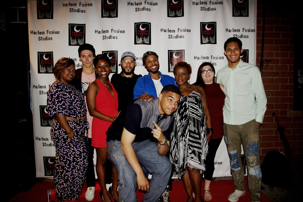 (From Left to Right) Shakesha Williams, Luke Lowrey, Leslie Nicole Ivery, Yaniel Paulino, Louis Martinez, DC Werkzz, Mimi Sullivan, Alicia Trammel, Alex James.