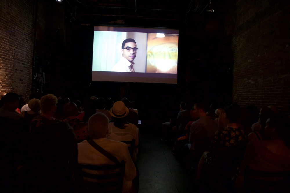The audience at the My Story Screening