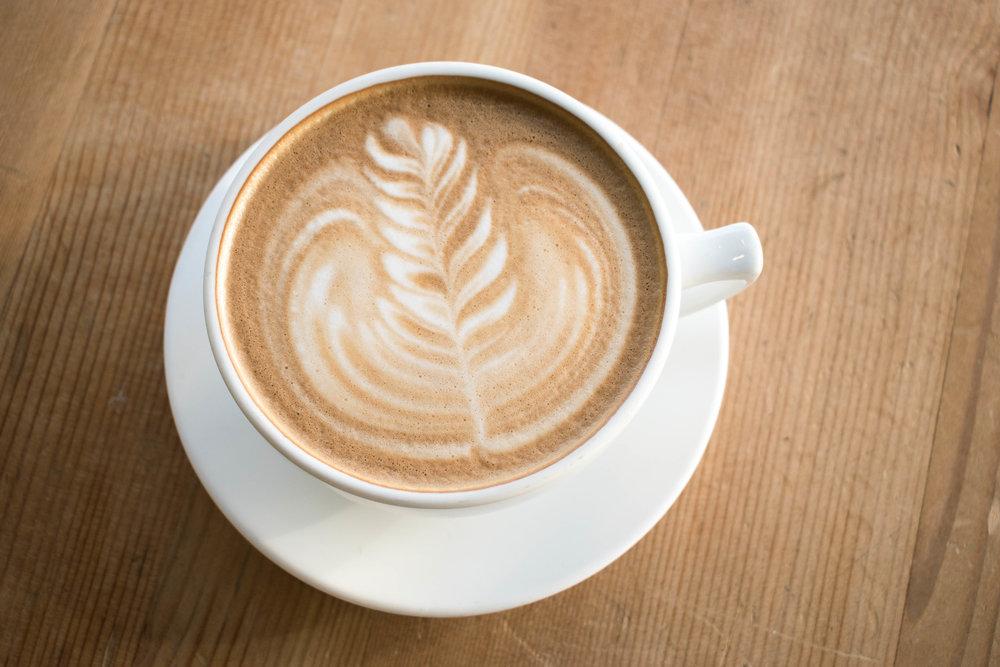 Latte for Bang Bang Cafe