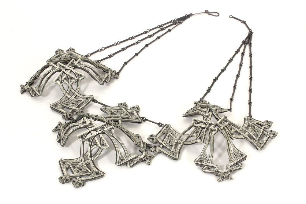 $192.00  Currency Converted   |  Necklace  |  US Dollars, Silver, and Monofilament  |  2015  |  1/1
