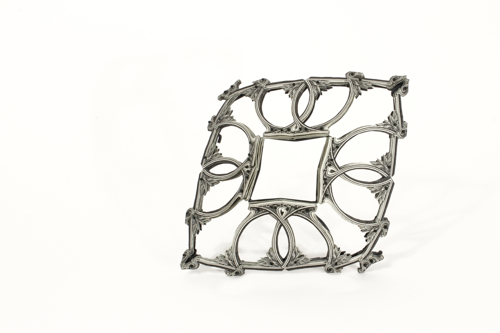 $64.00 Currency Converted   |  Brooch  |  US Dollars, Silver, Monofilament, Surgical Steel  | 2015  |  1/1