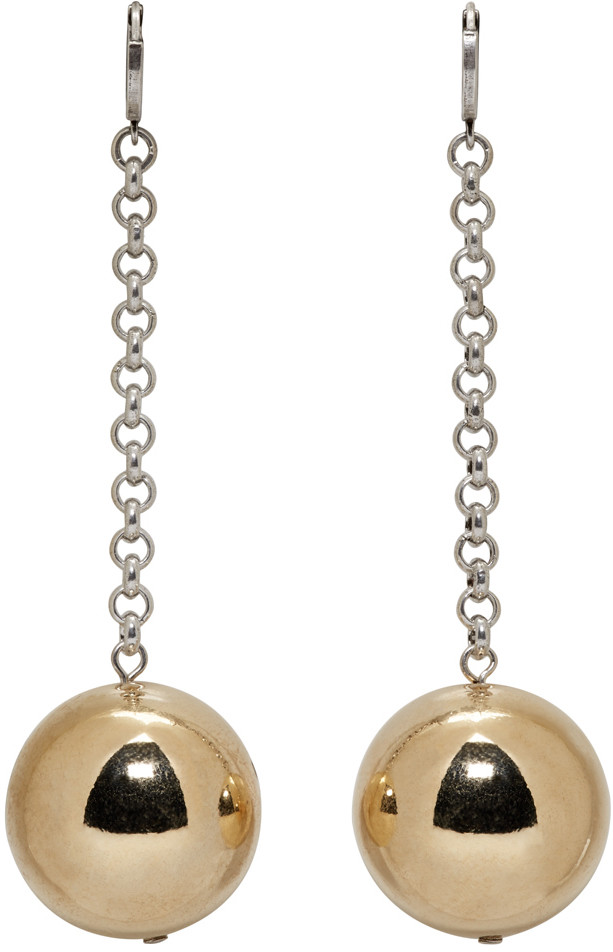 https://www.ssense.com/en-us/women/product/isabel-marant/gold-silver-blind-earrings/1716543