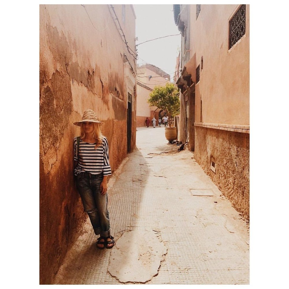 Ph: Me in the Medina, shot by Tom Schirmacher