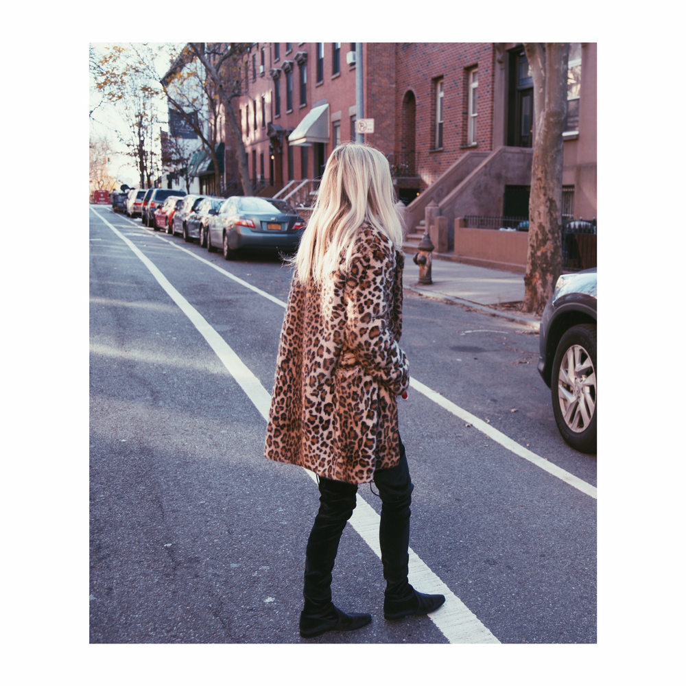 Me on the streets of Brooklyn, Shot by James Dimmock