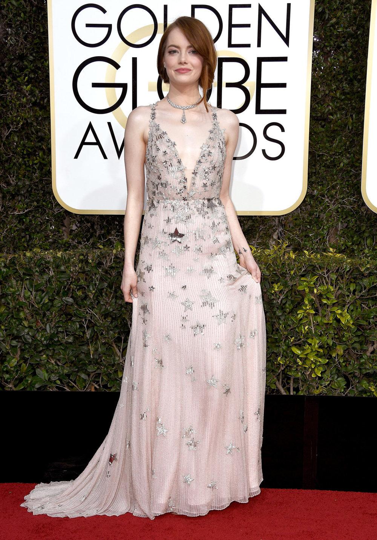 Emma Stone wearing Valentino