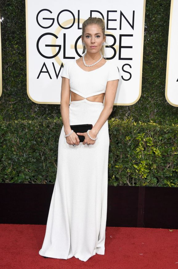 Sienna Miller, wearing Michael Kors Collection