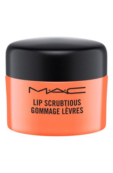 Ph:  M.A.C. Lip Scrubtious in Candied Fruit