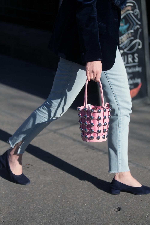 Ph: ALEXANDER WANG Roxy Mini Bucket Bag Shot by Melodie Jeng