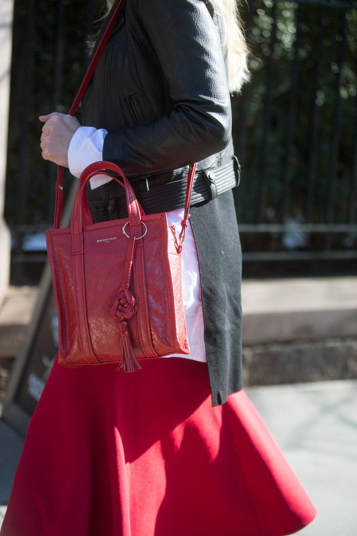 Ph: BALENCIAGA Bazar Extra-Small Shopper Tote Bag Shot by Melodie Jeng