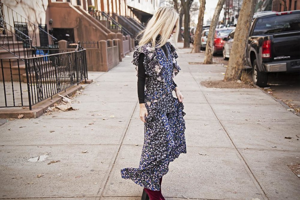 Ph: Fresh frills! On the streets of Brooklyn. Shot by James Dimmock
