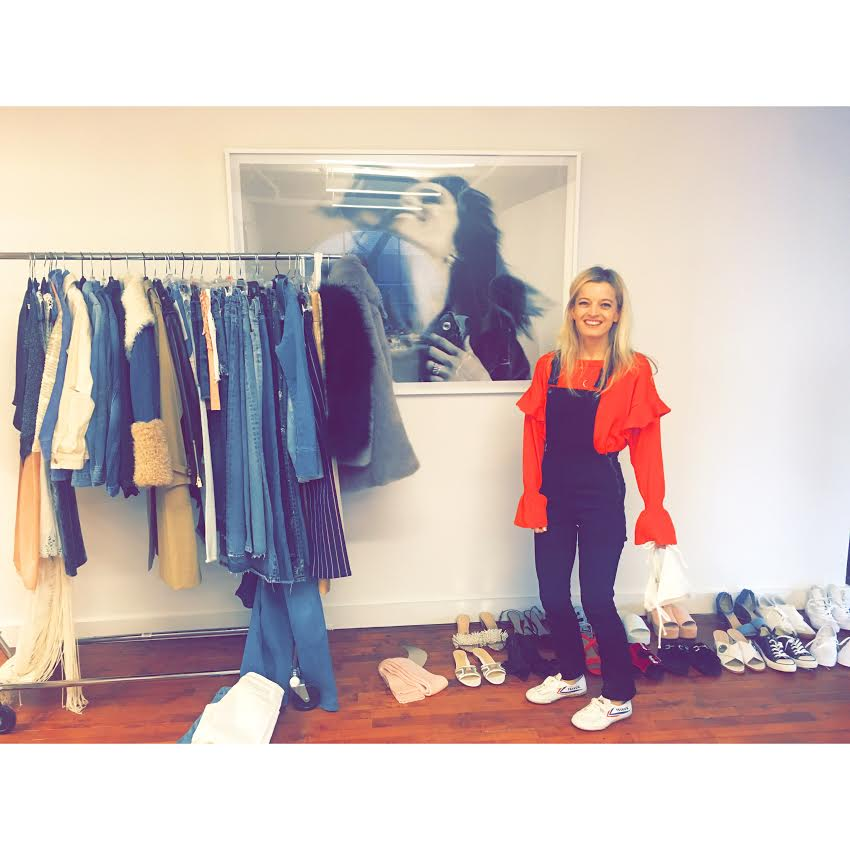 Ph: Denim for days: Behind the scenes on Dannijo's Spring Campaign wearing my favourite denim overalls