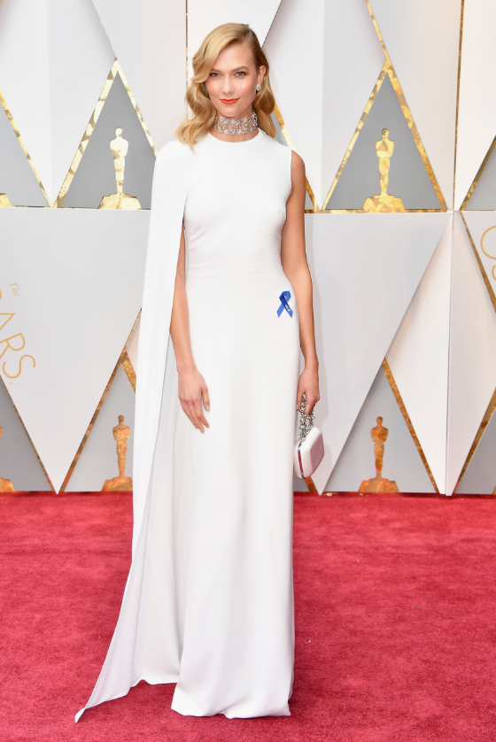 Ph: Karlie Kloss, minimal and ultra chic in Stella McCartney and Nirav Modi jewelry