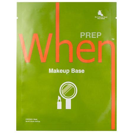 When Makeup Sheet Mask