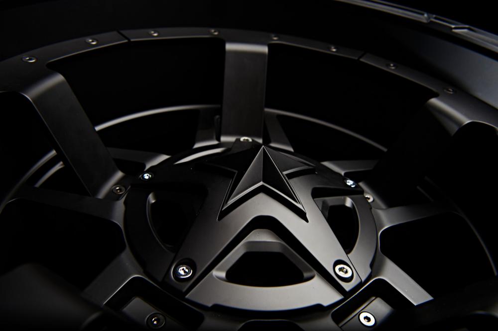 KMC Rockstar 3 MIdspoke Detail Matte Black